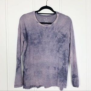 American Eagle Soft & Sexy Purple Worn Washed Top